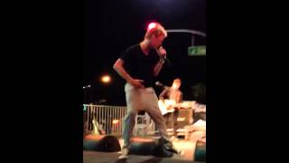 """Aaron Carter """"This Is The Life"""" *new song* Modesto, CA 8/3/13"""