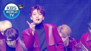 Gambar cover SEVENTEEN(세븐틴) - Getting Closer(숨이차),  HOME [Music Bank / 2019.02.01]