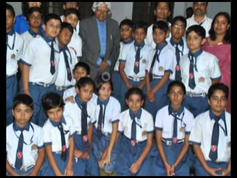 Dr Abdul Kalam at Presidency School Ajmer