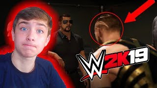 WWE 2K19 MY CAREER TRAILER REACTION!!!
