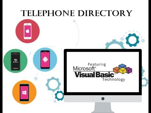 Visual Basic Programming Tutorial with code – Telephone Directory