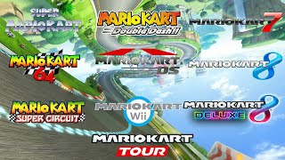 Picture of a game: Mario Kart