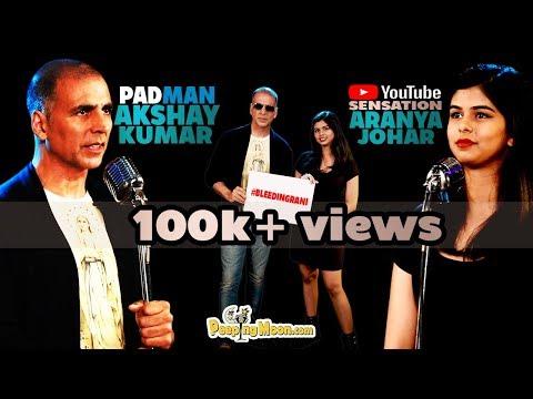 #BleedingRani | Akshay Kumar |Aranya Johar | Peeping Moon