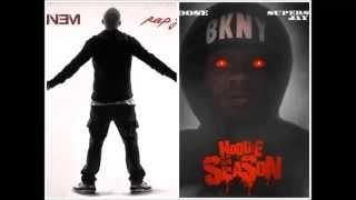 Rap god - Eminem & Papoose at the same time