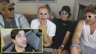 REACTING TO DOM FROM DAVID'S VLOG!