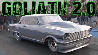 Street Outlaws DADDY DAVE Goliath 2.0!