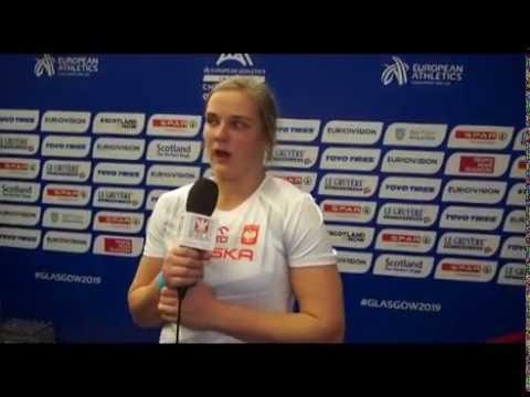 HME Glasgow 2019: Klaudia Kardasz piąta w finale kuli
