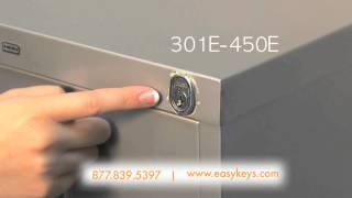 HON File Cabinet, Desk or Cubicle Office Furniture Key and Lock Help