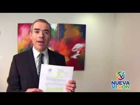 Entrega información sobre caso tabletas a Juan Carlos Pérez Góngora