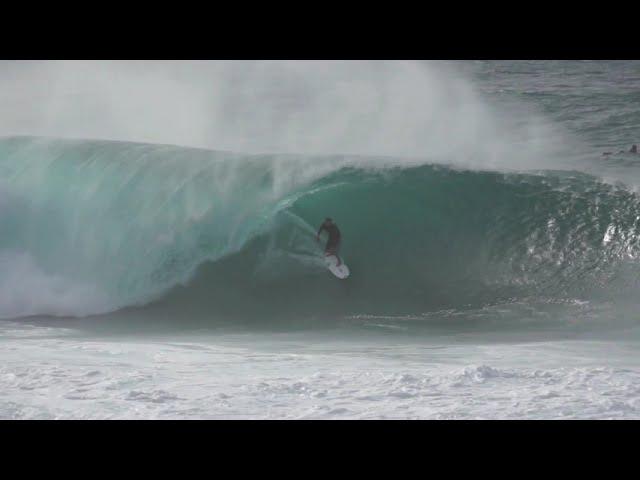 Pipeline Surf Biggest Day Winter 2014