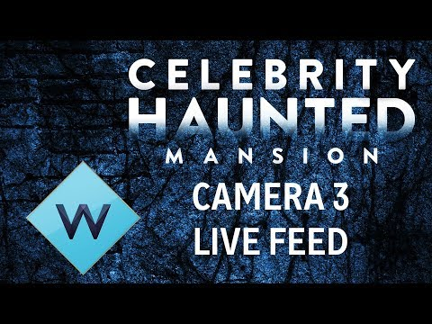 Celebrity Haunted Mansion Live | Camera 3 - Billiard Room | W