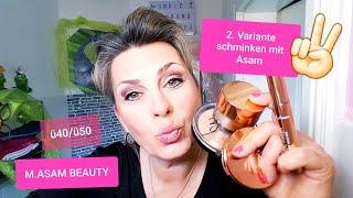 M.Asam Kosmetik / Make-up  / Mascara / Tutorial