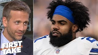 Zeke won't take the Cowboys to the Super Bowl - Max Kellerman | First Take