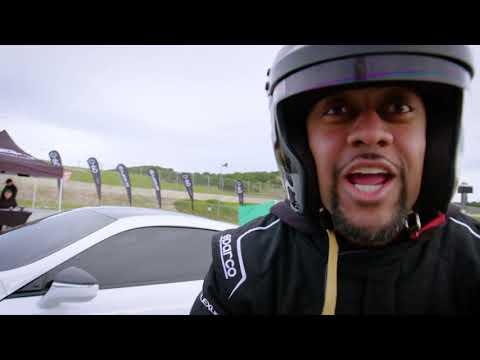 Lexus 0 to 60: Season 3 Key Makeup Artist. Celebrity Racing Competition Part 4