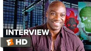 Suicide Squad Interview - Adewale Akinnuoye-Agbaje (2016) - Action Movie