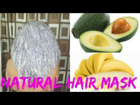 Hair Mask na may kanela para sa ilaw bago at pagkatapos ng