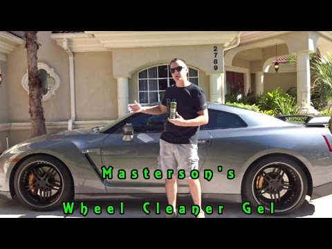 Masterson's Car Care Wheel and Rim Cleaner Gel Review on a Nissan GTR!