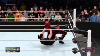 WWE 2K16 - Kidcrusher vs Deadpool