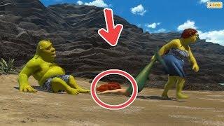 8 Bromas Para Adultos Ocultos En La Película De Shrek