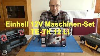 Einhell 12V Maschinen Set TE-TK 12 Li