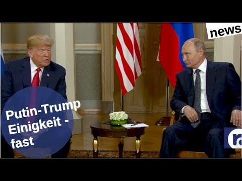 Putin-Trump: Einigkeit – fast [Video]