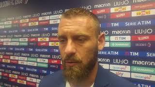 """De Rossi: """"Abbiamo fiducia in Di Francesco. Ci rialzeremo come abbiamo fatto già l"""