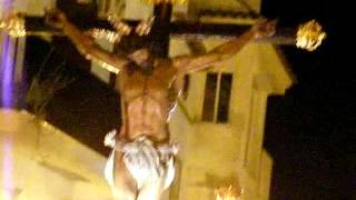 preview picture of video 'Cristo de la Vera Cruz calle Llana Semana Santa Olvera 2014'