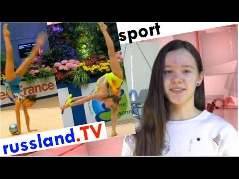 Sportgymnastik: Die Averina-Zwillinge [Video]