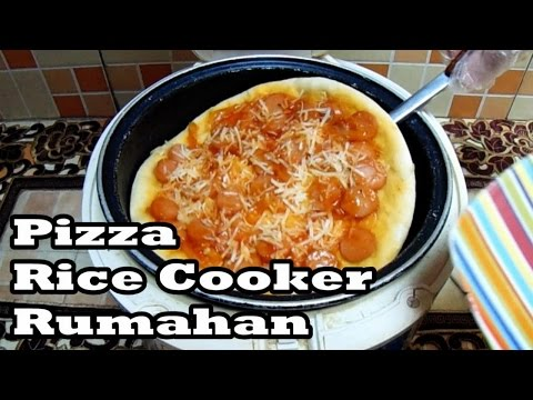 Video Cara Membuat Pizza Simpel Dengan Rice Cooker
