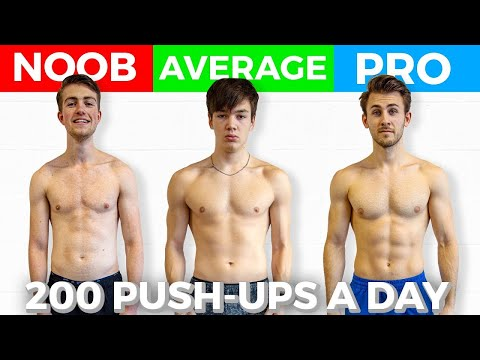 3 Guys Do 200 Push ups a Day For 30 days, These Are The Results