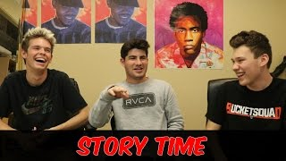 DESTROYING MY TOE!! STORY TIME ft. JESSER AND MOBCITY