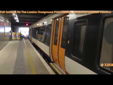 Full Journey On The London Overground From Dalston Junction to Clapham Junction