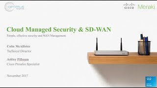 Optimus Networks - NextGen Cloud Managed Security & SD-WAN