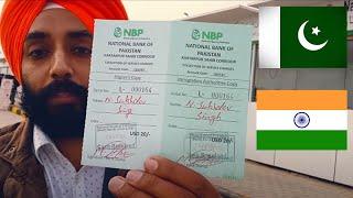Delhi to PAKISTAN by road | THE KARTARPUR CORRIDOR - REVEALED |  #worshiptravelfoooood