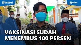 Vaksinasi Kota Solo Sudah Tembus 100 Persen, Gibran Janji Kini Kejar Vaksin Warga KTP Non-Solo