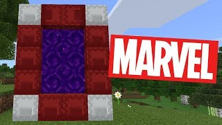 How To Make a Portal to the Marvel Dimension in Minecraft Pocket Edition