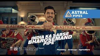 India Ka Sabse Bharosemand Pipe | Astral Pipes featuring Ranveer Singh