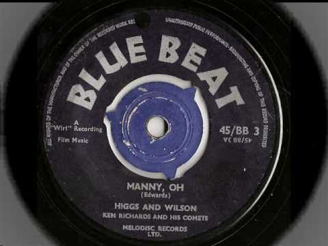 Higgs And Wilson – Manny Oh – When You Tell Me – Blue Beat 03 – a and b side