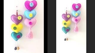 Felt Heart / How To Make Heart  Craft