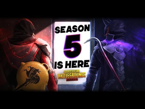 PUBG Mobile | Season 5 is Here.