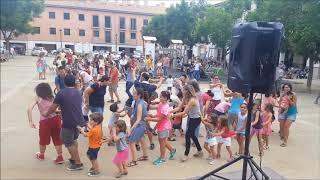 Animación infantil en la calle y la Plaza en Altafulla, Tarragona