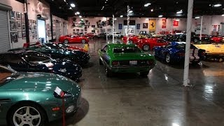 Huge Expensive Private Car Collection