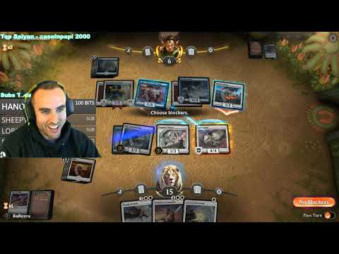 Imagen de Bajheera jugando Magic Arena