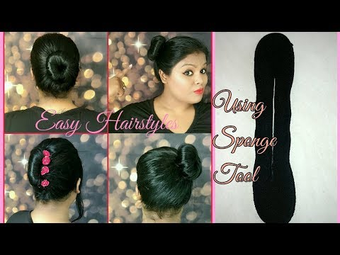 Easy Bun Hairstyles | Magic Sponge Hair Accessories Tool Twist Curler Roller Styler Mp3