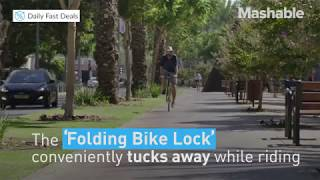 Foldable Bike Lock Product Video