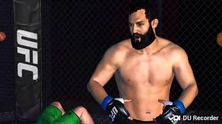 UFC Mobile Johny Hendricks Middleweight career mode Stage 105-107