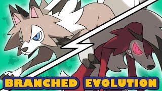 Rockruff  - (Pokémon) - Lycanroc Midday vs Midnight   Pokémon Branched Evolution (Ace Trainer Liam)