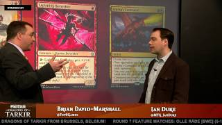 Pro Tour Dragons of Tarkir Deck Tech: Red Aggro with Ian Duke