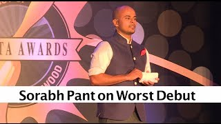 The Ghanta Awards 2014 Sorabh Pant On Worst Debut
