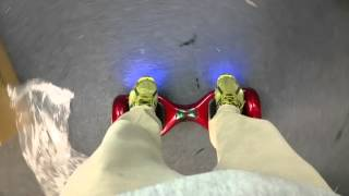 Broken Hoverboard Spinning Slow Then Whipping Around